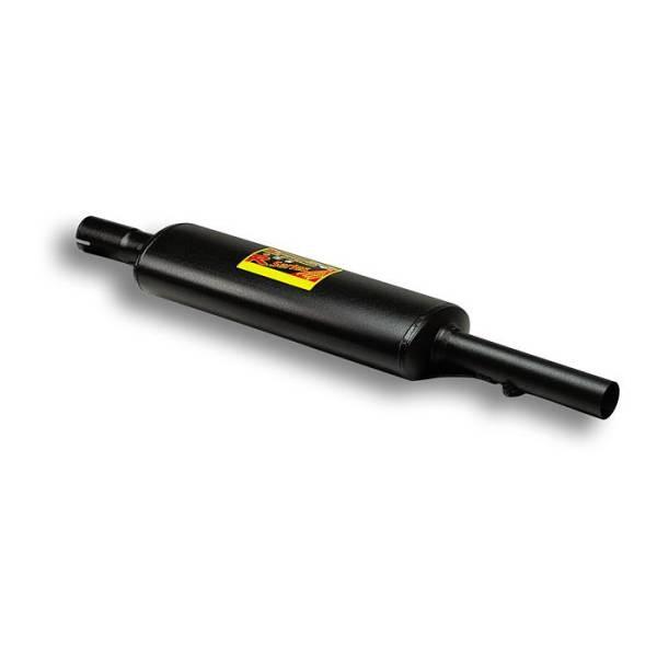 Supersprint Mittelschalldämpfer passend für FIAT PUNTO 99 ( tipo 188 ) 1.2i 16v Sporting 99 -> 02