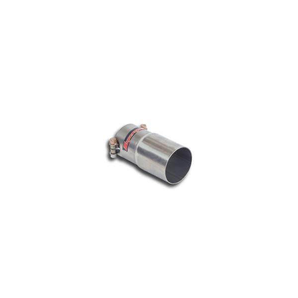 Supersprint Verbindungsrohr für Serien Vorschalldämpfer, Ø65mm passend für AUDI SQ2 QUATTRO 2.0 TFSI