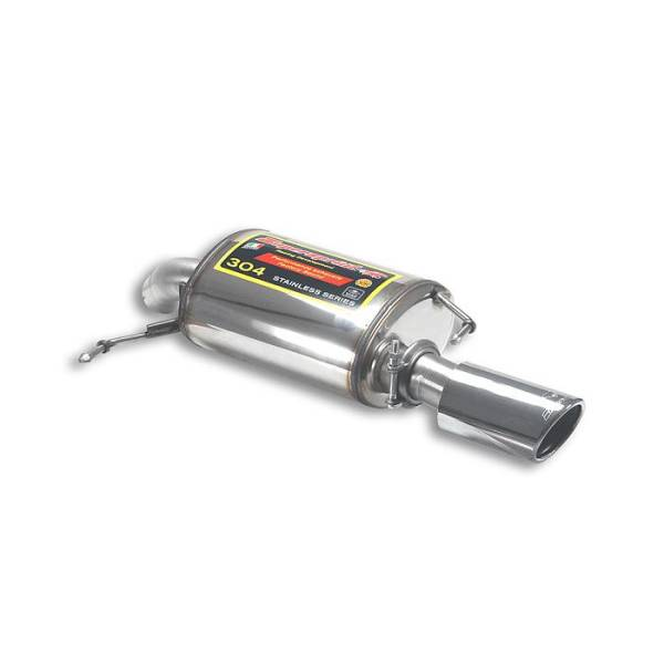 Supersprint Endschalldämpfer Links O90 passend für ALPINA B3 GT3 (E92) 3.0i Bi-Turbo (408 PS) 2011 -