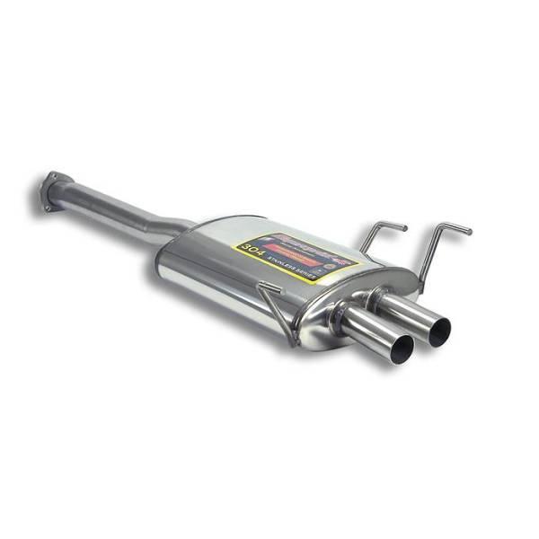 Supersprint Mittelschalldämpfer passend für ALFA ROMEO Spider 2.0 16V Twin Spark (150 PS) 95 -> 05