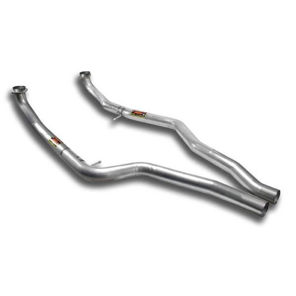 Verbindungsrohrsatz Rechts + Links passend für BMW E71 X6 M V8 Bi-Turbo (555 PS) 2010 -> 2014