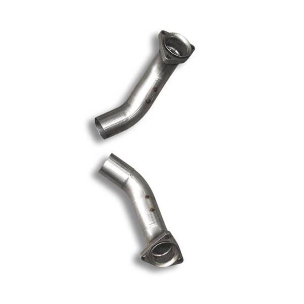 Supersprint Verbindungsrohrsatz Rechts + Links (für Serien Fächerkrümmer). passend für CORVETTE C5 5