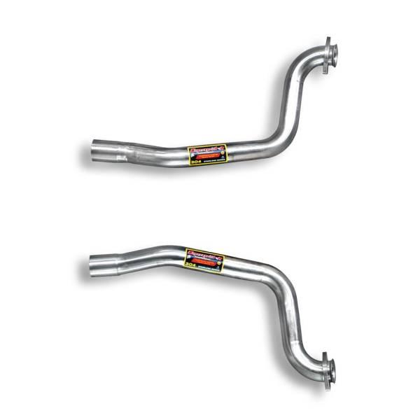 Supersprint Verbindungsrohrsatz Recht + Link passend für FERRARI 575M Maranello V12 (515 PS) 02 -> 0