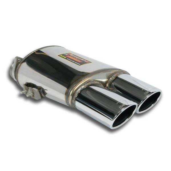 Supersprint Endschalldämpfer Rechts OO 120x80 passend für FERRARI 575M Superamerica V12 (540 PS) 05