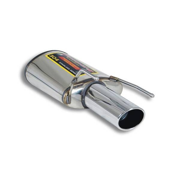 Supersprint Endschalldämpfer Links O 100 passend für ALFA ROMEO 159 1750 TBi (200 PS) 2009 -> 2011