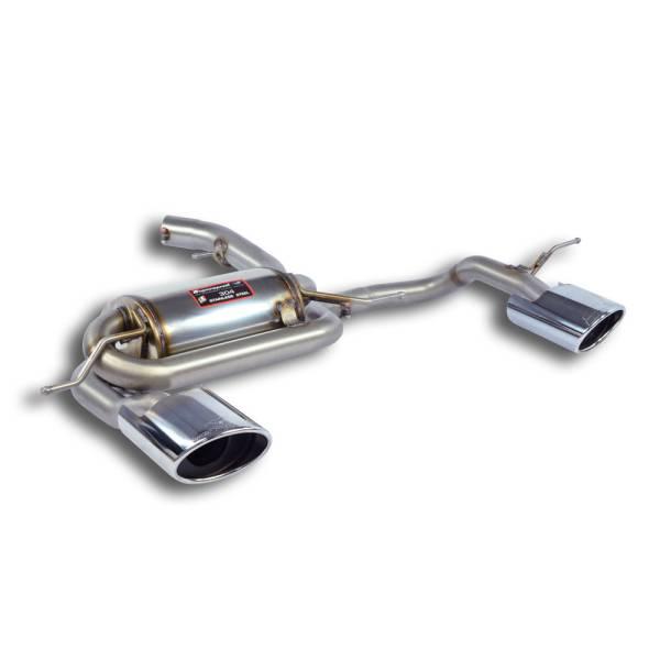 Supersprint Endschalldämpfer Rechts 150x105 - Links 150x105 passend für AUDI RS Q3 2.5 TFSI Quattro