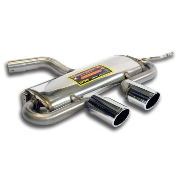 Endschalldämpfer OO100 passend für VW GOLF VI GTI Cabrio 2.0 TSI (210 PS) 2012 -> (Für GOLF VI R He