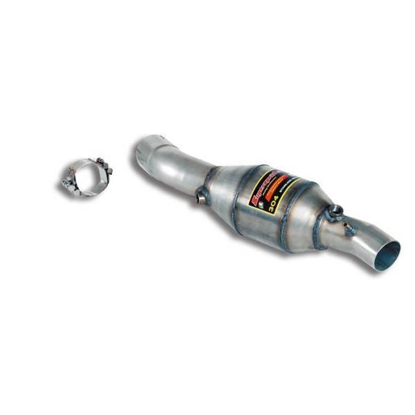 Supersprint Vorschalldämpfer mit Sport Metallkatalysator Links. passend für FERRARI 360 Modena Coupe