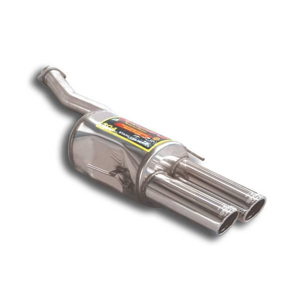 Supersprint Endschalldämpfer Links OO 90 passend für ALPINA B12 (E31) 5.0i Coupe V12 (M70 - 350 PS)