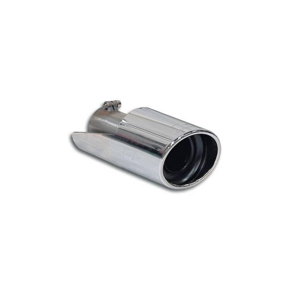 Supersprint Endrohr-Links O 100 passend für JAGUAR S-Type 4.2i V8 (298 PS) 02 ->