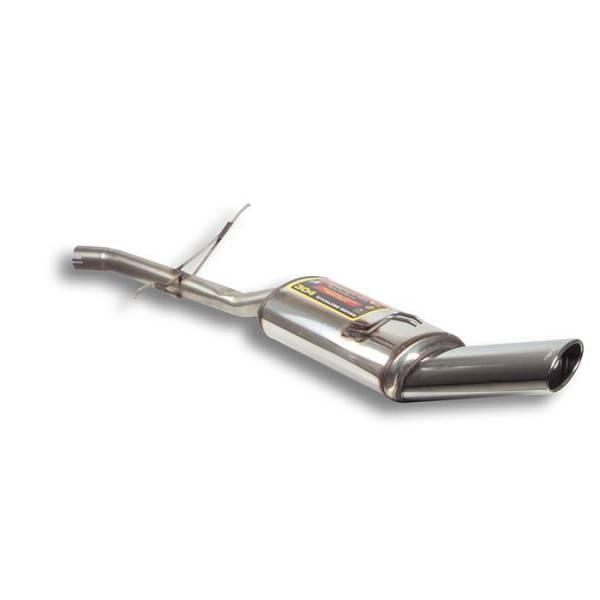 Supersprint Mittelrohr + Endschalldämpfer 145x95 passend für FIAT BARCHETTA 1.8i 16v 01 -> 02